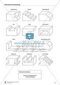 Übungen zum Technischen Zeichnen: Räumliche Darstellung Preview 10
