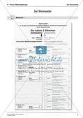 Bundestagswahl: Der Stimmzettel Preview 4