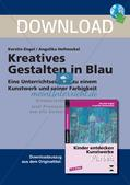 Kunstwerke und Farbe: Blau Preview 1