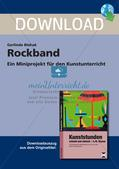 Künstlerische Miniprojekte: Rockband Preview 1