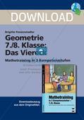Geometrie: Das Viereck Preview 1