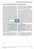 Ethik an Stationen: Selbstfindung und Erwachsenwerden Preview 6
