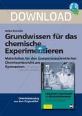 Chemisches Experimentieren: Grundwissen Preview 1