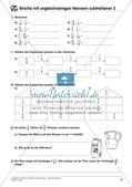 Bruchrechnung: Addition und Subtraktion Preview 18