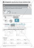 Bruchrechnung: Multiplikation und Division Preview 10