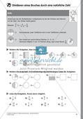 Bruchrechnung: Multiplikation und Division Preview 11