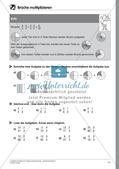 Bruchrechnung: Multiplikation und Division Preview 13