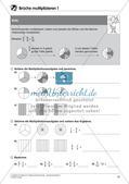 Bruchrechnung: Multiplikation und Division Preview 14