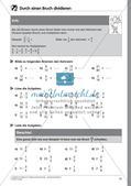 Bruchrechnung: Multiplikation und Division Preview 17
