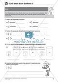 Bruchrechnung: Multiplikation und Division Preview 18