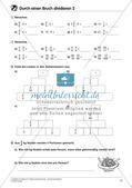 Bruchrechnung: Multiplikation und Division Preview 19