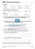 Bruchrechnung: Multiplikation und Division Preview 20