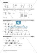 Bruchrechnung: Multiplikation und Division Preview 23