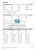 Bruchrechnung: Multiplikation und Division Preview 24