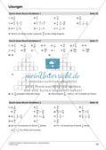Bruchrechnung: Multiplikation und Division Preview 25