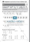 Bruchrechnung: Multiplikation und Division Preview 9