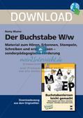 Der Buchstabe W/w Preview 1