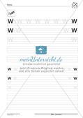 Der Buchstabe W/w Preview 6