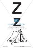 Der Buchstabe Z/z Preview 4