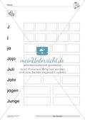 Der Buchstabe J/j Preview 11