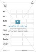 Die Lautverbindung Eu/eu Preview 11