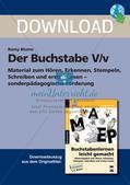 Der Buchstabe V/v Preview 1