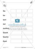 Der Buchstabe Q/q Preview 11