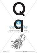Der Buchstabe Q/q Preview 4