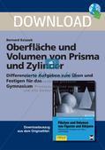 Oberfläche und Volumen: Prisma und Zylinder Preview 1