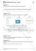 Oberfläche und Volumen: Prisma und Zylinder Preview 6