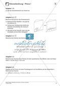 Oberfläche und Volumen: Prisma und Zylinder Preview 8