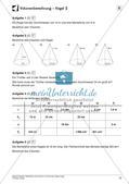 Oberfläche und Volumen: Pyramide, Kegel, Kugel Preview 14