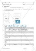 Lernzielkontrollen Klasse 7: Sprache untersuchen und Zeichensetzung Preview 10
