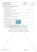 Lernzielkontrollen Klasse 7: Sprache untersuchen und Zeichensetzung Preview 11