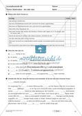 Lernzielkontrollen Klasse 7: Sprache untersuchen und Zeichensetzung Preview 13