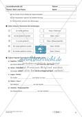 Lernzielkontrollen Klasse 7: Sprache untersuchen und Zeichensetzung Preview 4