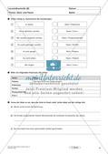 Lernzielkontrollen Klasse 7: Sprache untersuchen und Zeichensetzung Preview 6