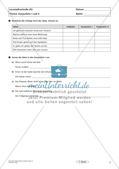 Lernzielkontrollen Klasse 7: Sprache untersuchen und Zeichensetzung Preview 9