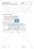 Lernzielkontrollen Klasse 8: Sprache untersuchen und Zeichensetzung Preview 4
