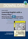 Wortschatzarbeit: Familie und Zuhause Preview 1