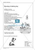 Wortschatzarbeit: Körper und Wetter Preview 3