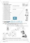 Wortschatzarbeit: Körper und Wetter Preview 5