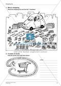 Wortschatzarbeit: Einkaufen und Bauernhof Preview 4