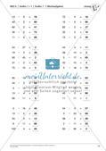 Lernfortschrittsdiagnose: Großes Einmaleins und Einsdurcheins Preview 15