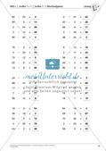 Lernfortschrittsdiagnose: Großes Einmaleins und Einsdurcheins Preview 16