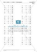 Lernfortschrittsdiagnose: Großes Einmaleins und Einsdurcheins Preview 17