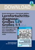 Lernfortschrittsdiagnose: Großes Einmaleins und Einsdurcheins Preview 1