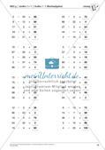 Lernfortschrittsdiagnose: Großes Einmaleins und Einsdurcheins Preview 20