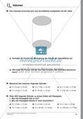 Körperberechnungen: Zylinder Preview 18