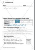 Körperberechnungen: Zylinder Preview 25